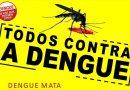 """Sábado, dia 7, tem mais um """"Mutirão contra a Dengue"""" em três bairros"""