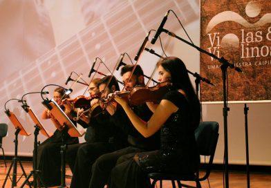Orquestra Violas & Violinos, com o Maestro Agenor, fecha a programação especial de fim de ano