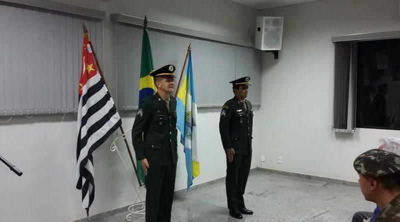 1º Sargento Lenildo assume a Chefia de Instrução do TG 02-038