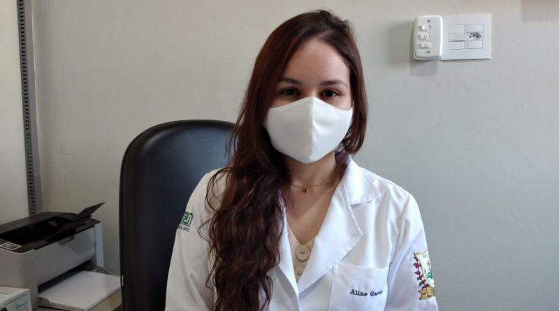 Estudante de medicina Aline Garcia é integrada ao ESF Buenos Aires