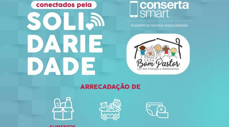 """""""Conectados pela Solidariedade"""": Campanha visa arrecadar doações à Casa Bom Pastor"""