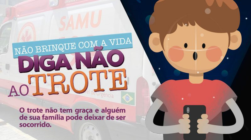 Trote telefônico ao SAMU e a Órgãos Públicos Municipais gera multa aos praticantes