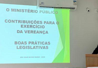 Dr. José Cláudio Zan discorreu sobre o Ministério Público aos vereadores eleitos e suplentes
