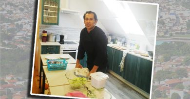 Eliseu de Moraes: Rio-pardense reside na Lituânia e é Chefe de Cozinha em navio